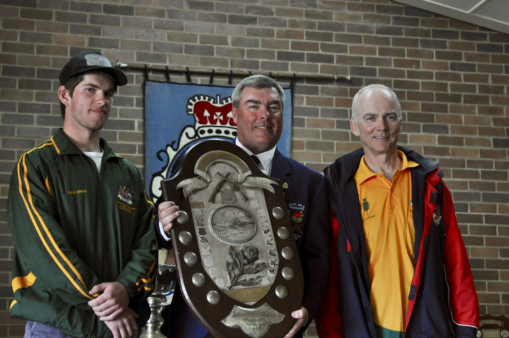 David Smith 6th, Michael Millen 10th and Stuart Collings 1st in NSWRA Queens Prize 2017